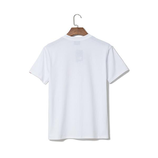 Fashion Casual T Shirt Men Tees Mens Clothing Round Collar T Shirts For Mens Tops Summer Short Sleeved Tshirts black White T tee6