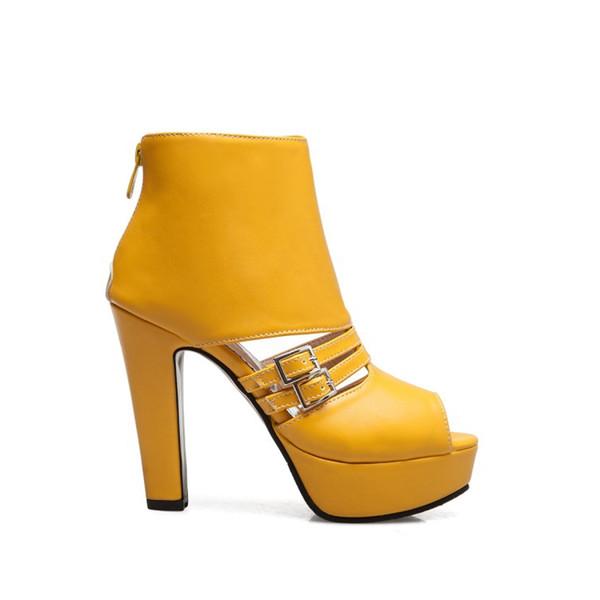 38755d8e4f2 2019 plataforma de sandalia de niña super tacón hebilla de señora joven  zapatos de fiesta mujer