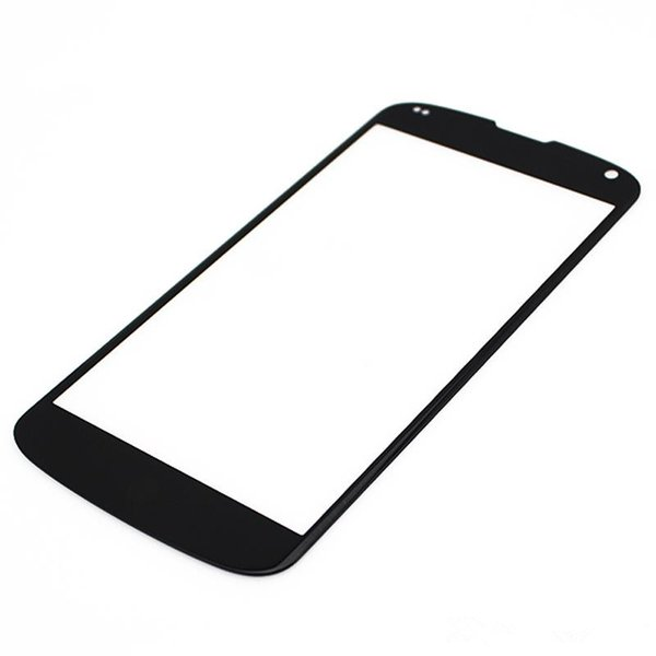 High quality 100PCS Outer Front Screen Glass Panel Lens Replacement for LG Nexus 4 5 5x free DHL