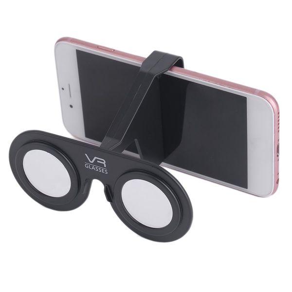Verres de réalité virtuelle 3D mini portables Verres 3D de mini plis portables