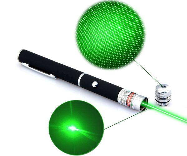 High Power 5mW Grün 2in1 STAR Laserpointer Leistungsstarkes Laser Pointer Pet Laser Point Spielzeug