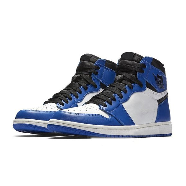 Best 1 I High OG Game Royal Banned Shadow Bred Toe Basketball Shoes Top Quality Clay Green Trainers 1S Sneakers EUR