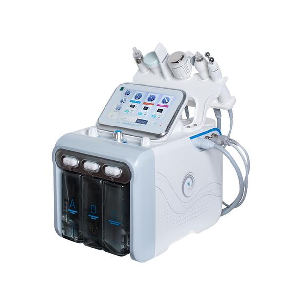 Micro Máquina De Dermoabrasão de Diamante de Cristal 3 Em 1 Remoção de Pele Morta Facial de Oxigênio Portátil Multifuncional Pele Beleza Equipamentos