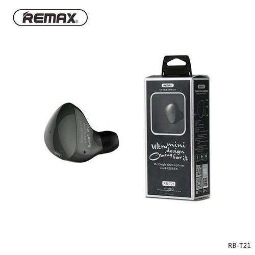 Original Remax T21 Bluetooth earphone In Ear Mini Earphone with HD Mic Sports wireless Headset MP3 for smartphone RB-T21