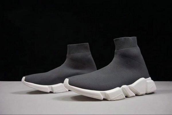 Mode Chaussettes Chaussures Vitesse Entraîneur coureurs de course Souliers simple d'homme Chaussures de sport femmes 36-45 n12 06