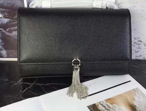 catena in argento caviale nero