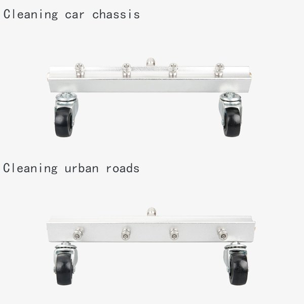Cleaning car chassis