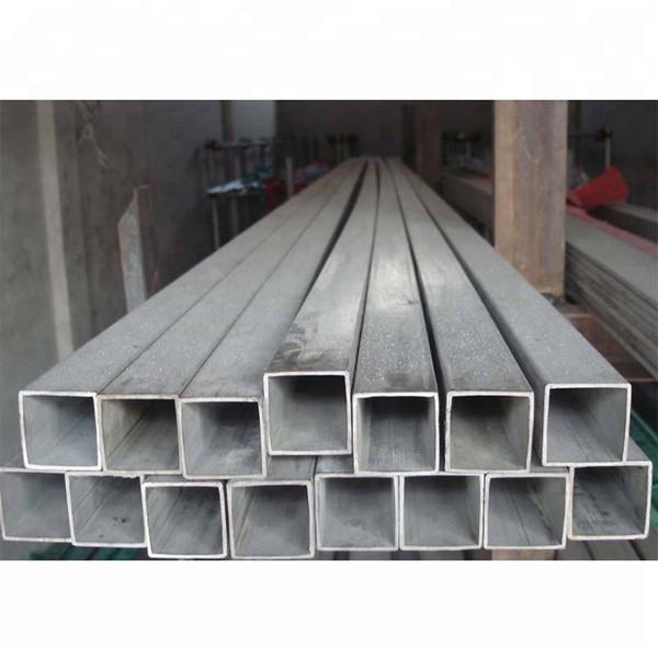 top popular High quality GR2 GR9 titanium rectangular titanium square tube for industry Gr1 Gr2 Pure Titanium flat tube price for sale 2021