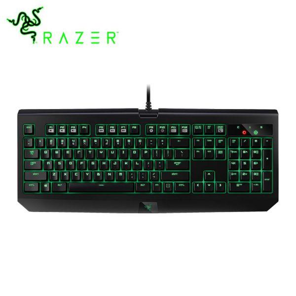 Razer Blackwidow Ultimate 2016 Clavier de jeu Commutateurs programmables rétro-éclairés verts Disposition US 104 clavier mécanique
