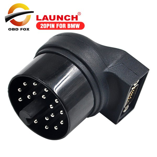 2017 Top selling 20pin connector for bmw for X431 IV V V+ launch x431 pad ii pro pro 3 free shipping