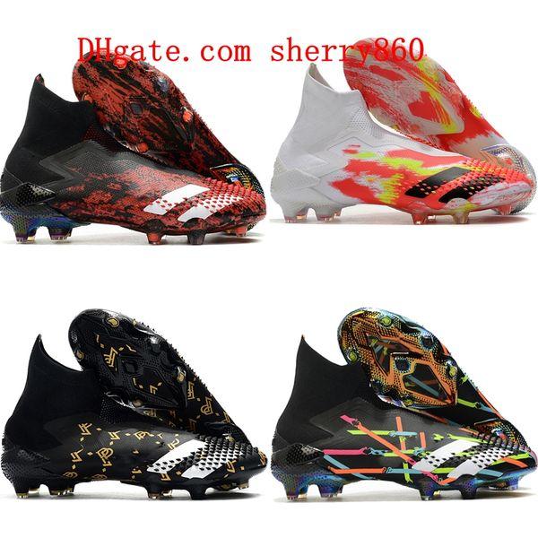 best selling 2020 top quality mens boys soccer shoes Predator Mutator 20+ FG women children football boots botas de futbol tic size 35-45