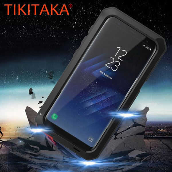 Anti Shock Hybrid Tough Heavy Metal Shockproof Armor Case For Samsung Galaxy S9 S8 Plus S7 S6 Edge S5 Note 8 5 Protective Cover C19041301