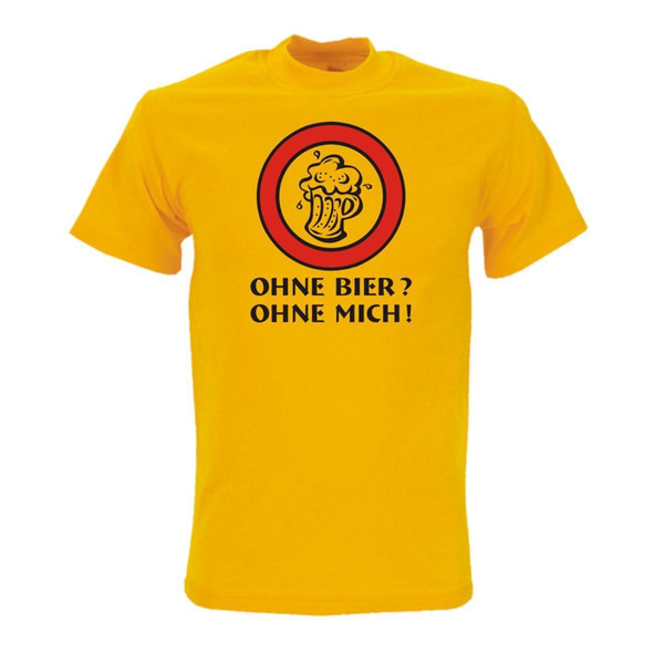 Compre Ohne Bier Ohne Mich Witzige Funshirts Lustige Sprüche Shirts Spaß Fsb050 Divertido Envío Gratis Unisex Casual Camiseta A 1296 Del