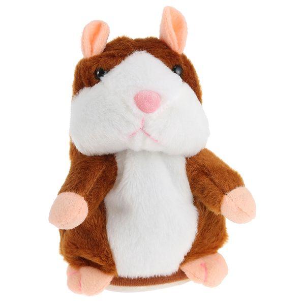Plüsch-Karikatur-Hamster sprechen interessantes Kinderspielzeug