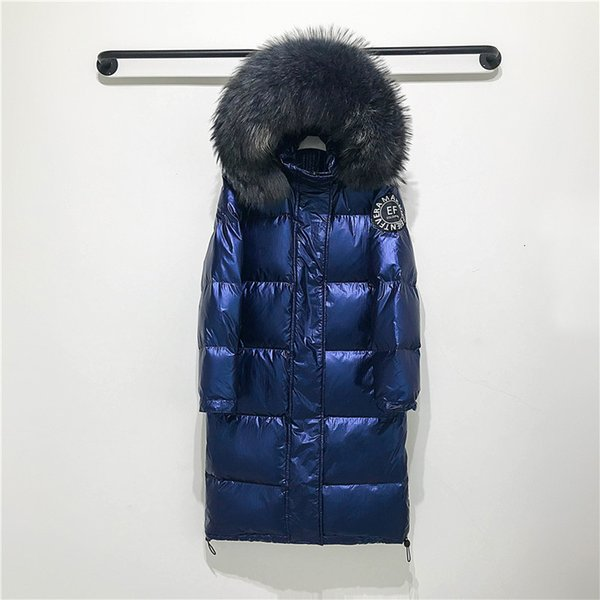 mavi ceket, gri kürk