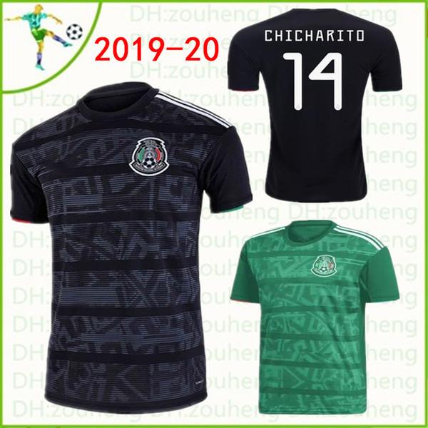 2019 Soccer Mexico soccer JERSEYS 19 20 gold Club LIGA MX Mujeres Hombres Hogar lejos Camisetas de fútbol LOZANO CHICHARITO H.LOZANO DOS SANTOS