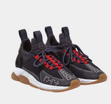 Lates style Designer Reaction Chaîne Hommes Casual Chaussures Femmes Sport Baskets Mode Hauteur Augmentant Casual Chaussures Baskets zz25