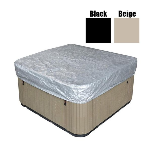 2019 200x200x30cm Black/Beige Outdoor Spa Hot Tub Cover Waterproof Prevent  Snow Rain Dust Cover Swimming Pool Accessory New From Wowsky, $35.17   ...