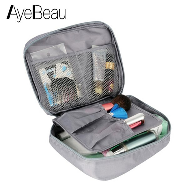 Wash Vanity Toiletry Kit Travel Necessaire Make Up Necessaries Makeup Cosmetic Bag Organizer For Women Beauty Case Pouch