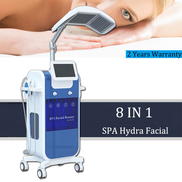 Máquina de beleza dermoabrasão Hydra Peel BIO lifting RF rejuvenescimento da pele Microdermabrasion Jet Spray Facial Massage Machine