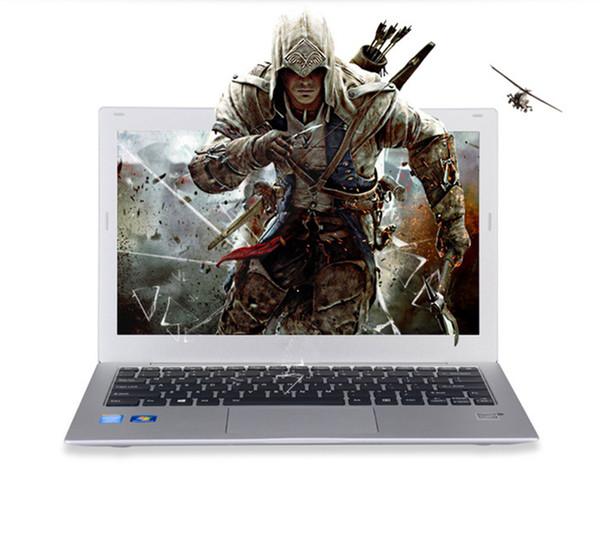 13.3 inch aluminum magnesium alloy ultraslim ultrabook laptop 8G 128G long last battery Intel I5 IPS HD gaming notebook
