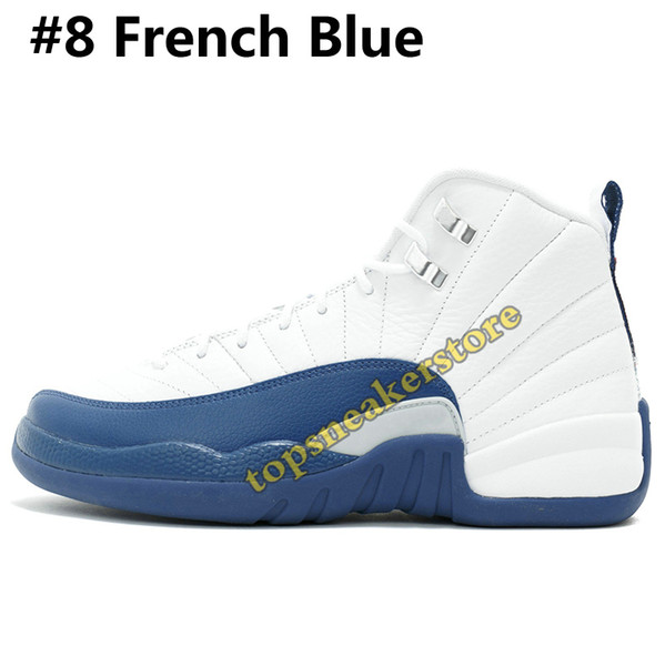 # 8 francés azul
