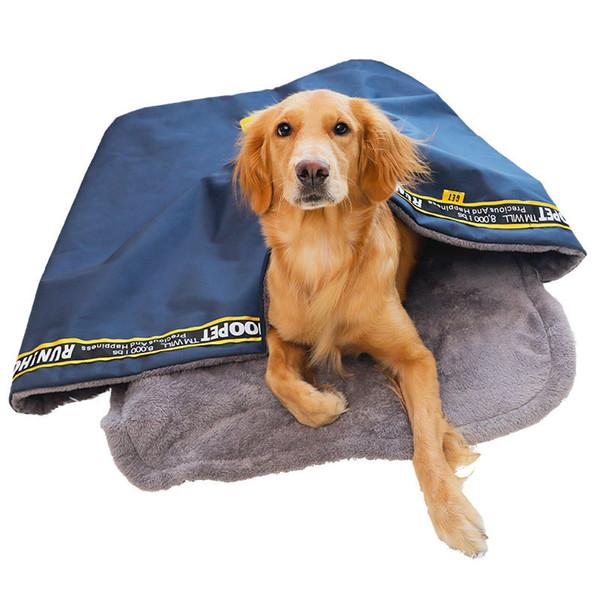 Büyük Köpek Pet Uyku Yatak, yavru Çanta Kedi Yatak açık Köpekler Kulübesi Kanepe Evi Köpek Mağarası Yatak Sıcak Yuva