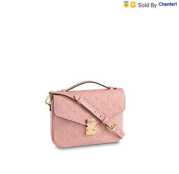 chenfei1 S89U M44018 Pochette Métis Rose Poudre Women HANDBAGS ICONIC BAGS TOP HANDLES SHOULDER BAGS TOTES CROSS BODY BAG CLUTCHES EVENING