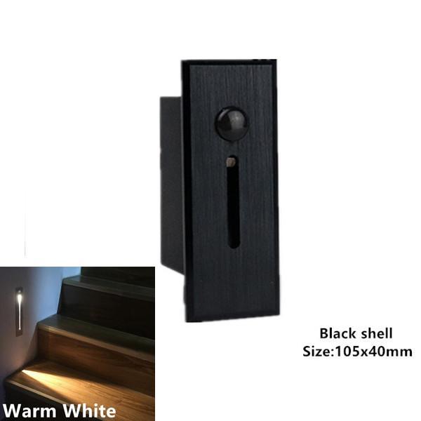 Schwarz Warmweiß A