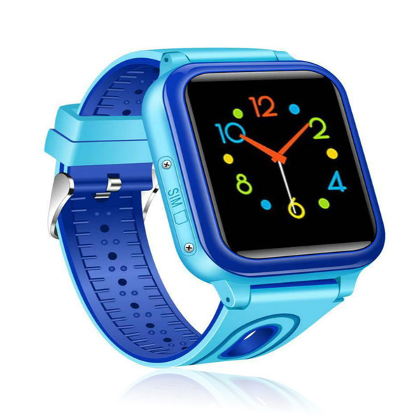 IP67 Waterproof Smart Safe Accurate Real-time Tracker Location SOS Call Remote Monitor SIM Card Phone Watch Wristwatch for Kids Son