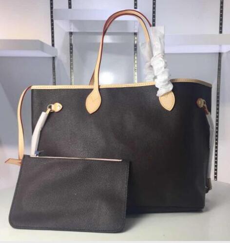 Preço de atacado vender alta qualidade de couro oxidar NEVERFULL MM GM TAHITIENNE mulheres totes com Bolsa de compras bolsa de ombro