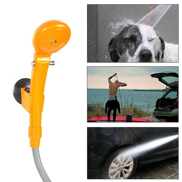 best selling New Portable 12V Camping Shower DC Car Shower Washer Set Electric Pump For Outdoor Camping Travel Pet Dog Car Washer