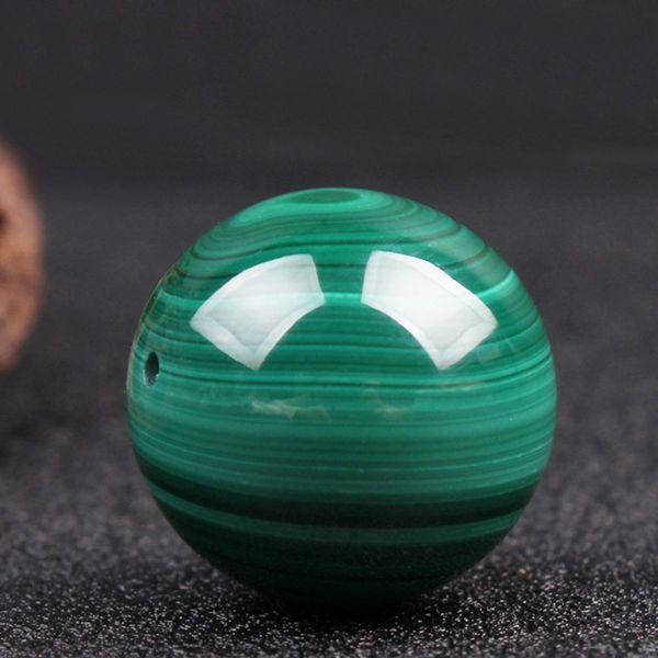 Alta qualità malachite perline pietra sciolta branello del distanziatore per monili che fanno 4/6/8/10 / 12mm 15 '' BraceletNecklace fai da te