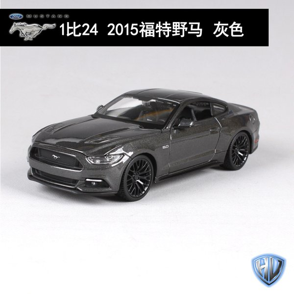 2015 Ford Mustang Gray