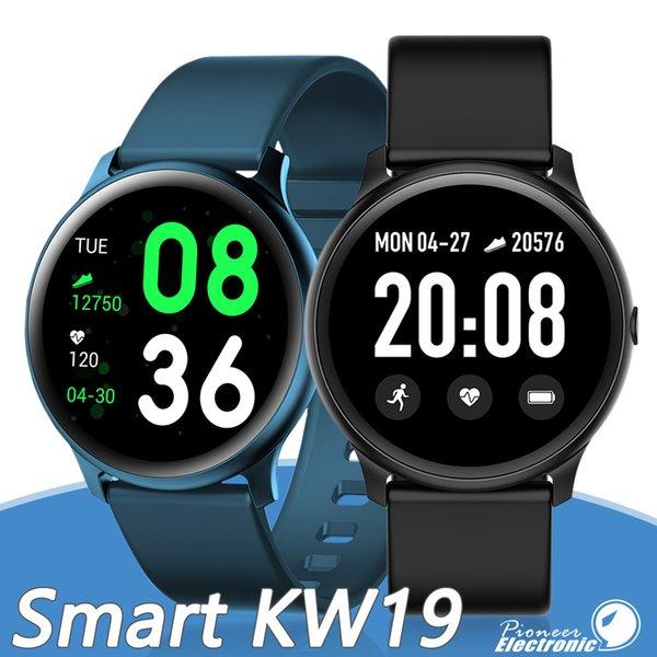KW19 SmartWatch браслет Tracker диапазона Ультратонкие Несколько режимов реального времени Напоминание Сообщение дистанционного управления камерой Музыка для Samsung Иос