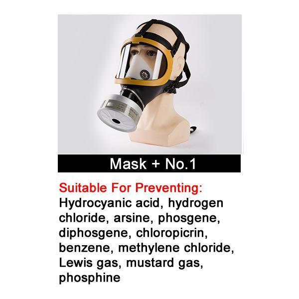 Masque Avec N ° 1