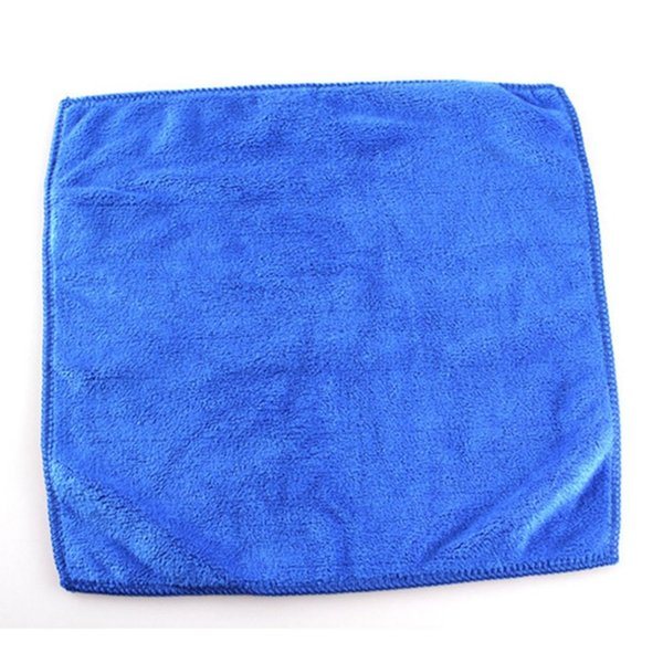 10Pcs Car Wash Microfiber Towel Auto Cleaning Drying Cloth Hemming  Absorbent
