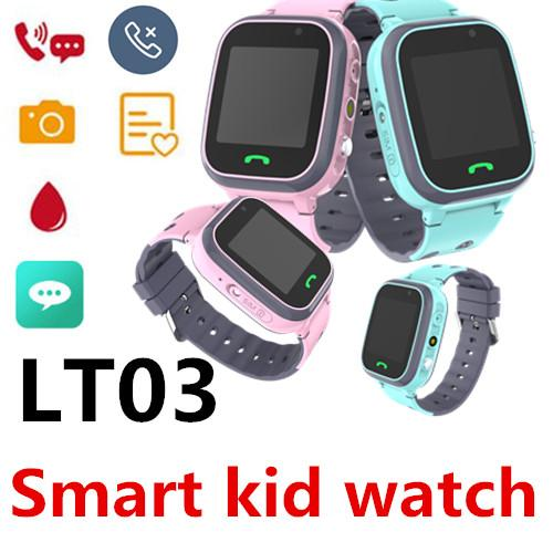 LT03 Children Smart Call Watch full Netcom waterproof LBS base station positioning remote monitoring SOS dual camera Support card 50 Packs