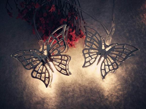 LED lights string wedding birthday room home decoration lights butterfly festive lights Christmas tree pendant ins