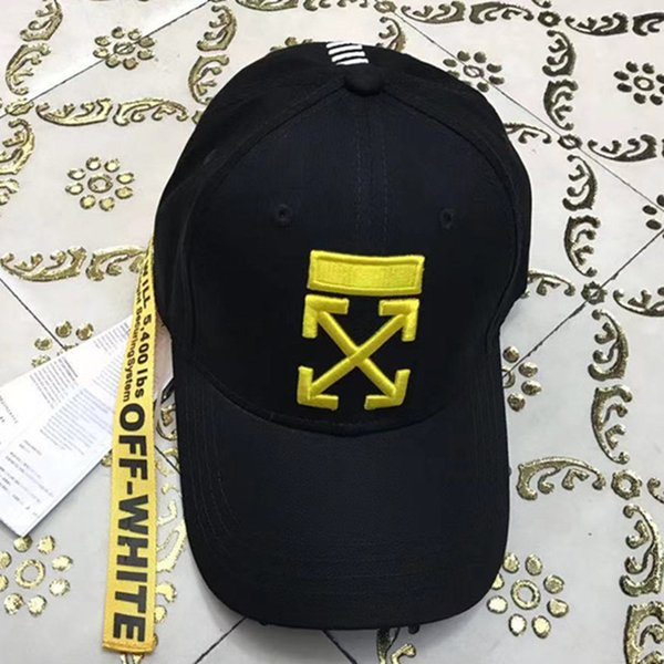 Gorra de béisbol de gorra de béisbol de marca ajustable de alta calidad para hombres gorra de hip hop de hueso blanco para mujer