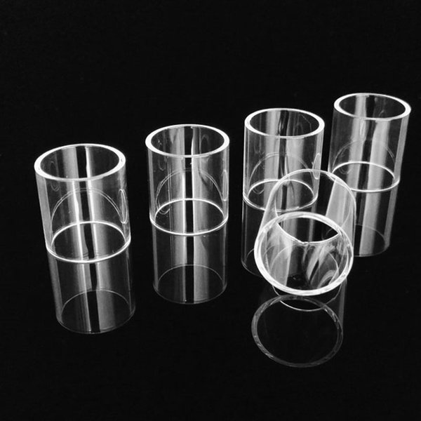 Authentic VapeSoon Replacement Clear Glass Tube replacement tube For kayfun v5 Taifun GT 2 Amor mini tank Theorem DHL