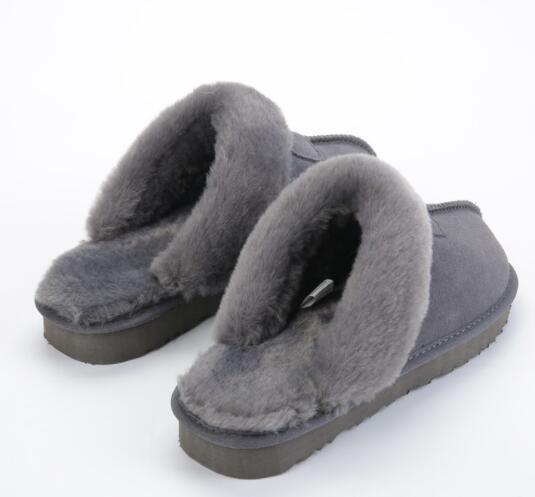 2019 heißer verkauf klassisches design wgg 5125 warme hausschuhe ziegenfell schaffell schneeschuhe martin stiefel kurze frauen stiefel halten warme schuhe versandkostenfrei