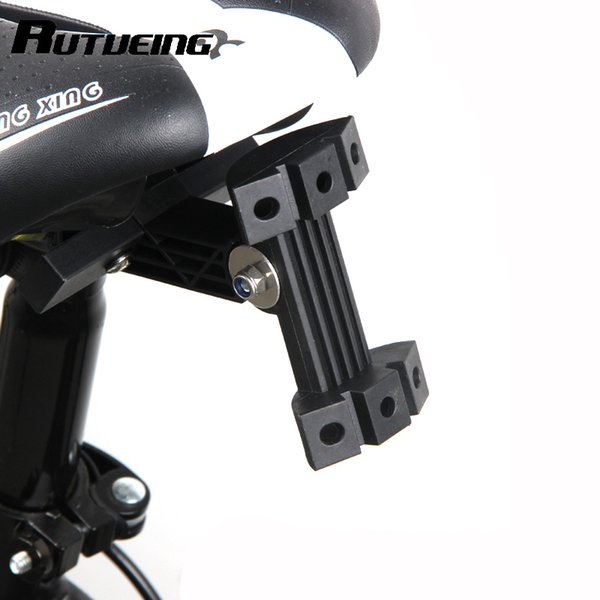 Bicycle Saddle Double Water Bottle Extension Holder Cage Adapter Rack Mtb Road Bike Seat Water Bottle Holder Adapter