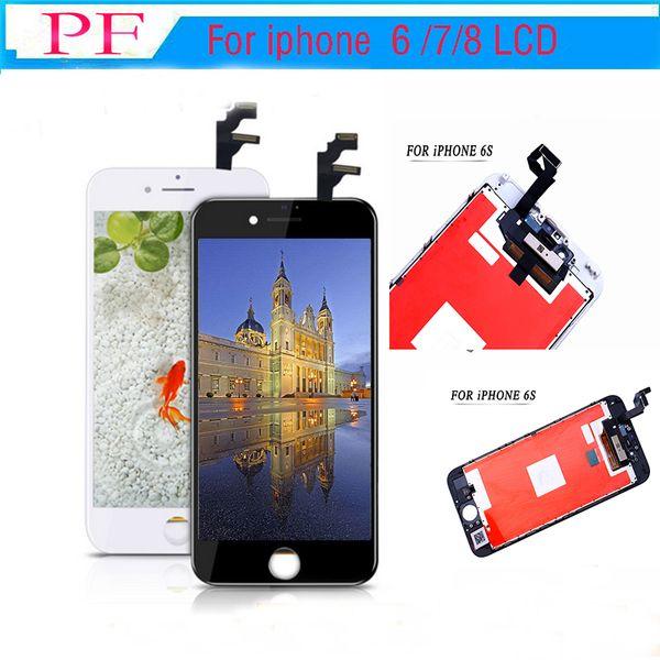 Pantalla LCD de alto brillo (Tianma) para iPhone 6 Digitalizador de pantalla LCD para iphone 6 plus lcd Grado A +++ Sin píxeles muertos