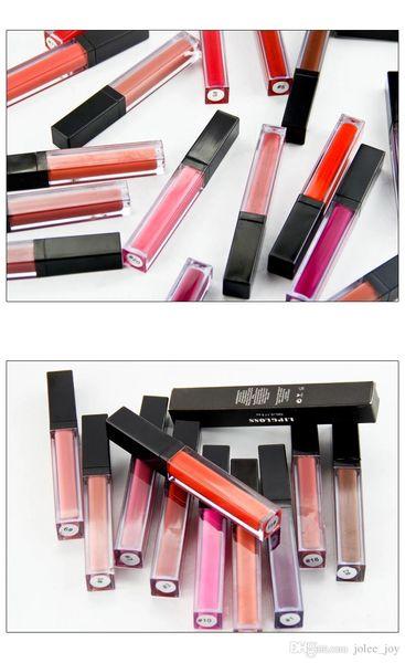 Waterproof Matte Long Lasting Lip Gloss Make Your Own Lip Gloss 20 colors liquid matte lipstick pigmented lip gloss for women Lips makeup
