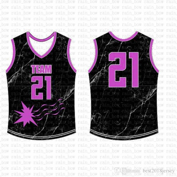 2019 New Custom Basketball Jersey High quality Mens free shipping Embroidery Logos 100% Stitched top sale A12222