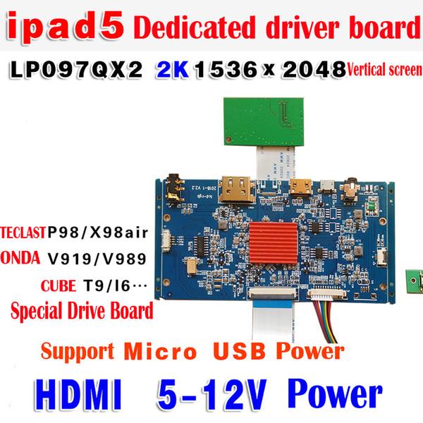 Pilote LCD IPAD LP097QX1 / 2 1536 * 2048/2048 * 1536 HDMI Support IPAD IPAD 3/4/5/6 LCD