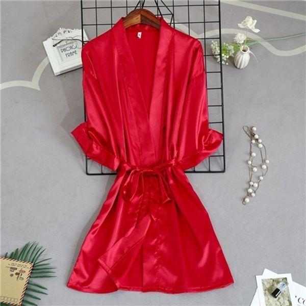 red Bridesmaid