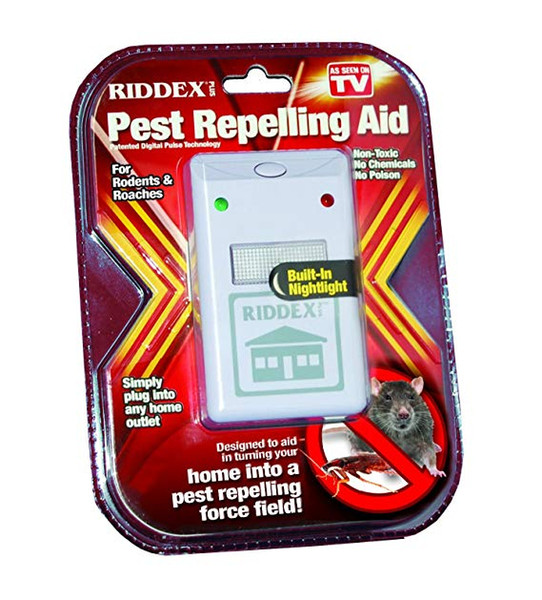 best selling RIDDEX Plus Pest Repeller - Non Toxic Pest Repellant Gets Rid of Bugs & Pests Safe for Children & Pets