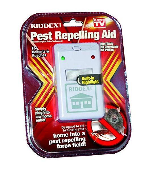 Repelente de plagas RIDDEX Plus - Repelente de plagas no tóxico se deshace de insectos Plagas seguro para los niños Mascotas